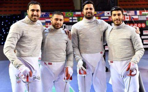 ایران در جام جهانی شمشیربازی سابر مجارستان ششم شد