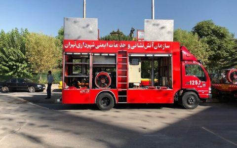 آتش نشانی در 13 فروردین در 196 نقطه تهران مستقر است