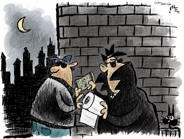 کاریکاتورهایی به تلخی کرونا!
