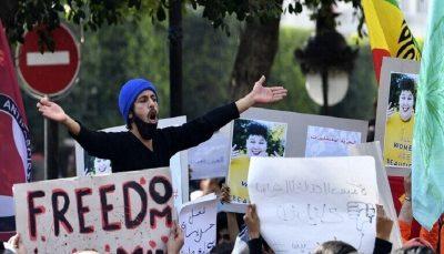 فعالان حقوق زنان در تونس تظاهرات کردند
