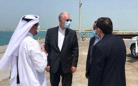 دیدار و رایزنی سفیر ایران با مسئولان بندر الرویس در قطر
