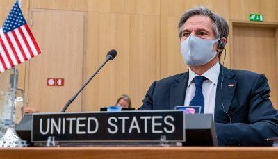 antoni وزیر امور خارجه آمریکا: توپ در زمین ایران است