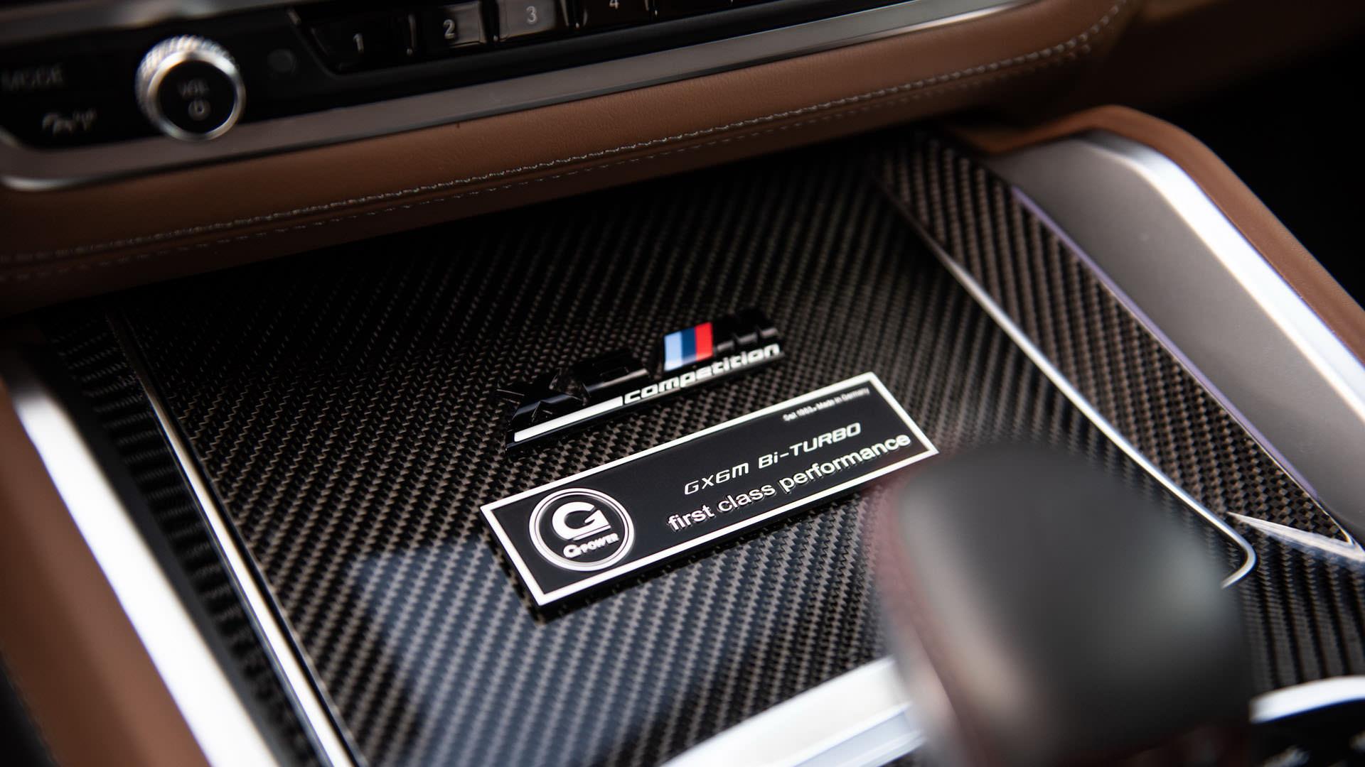 بی ام و X6 M کامپتیشن با تیونینگ جی پاور معرفی شد