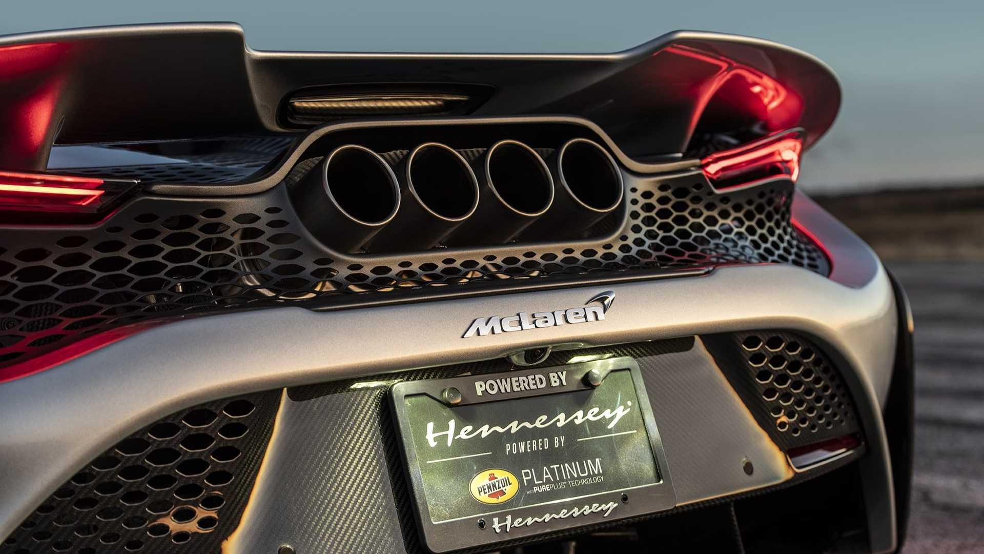 مک لارن 765LT با تیونینگ ۱۰۰۰ اسب بخاری هنسی معرفی شد