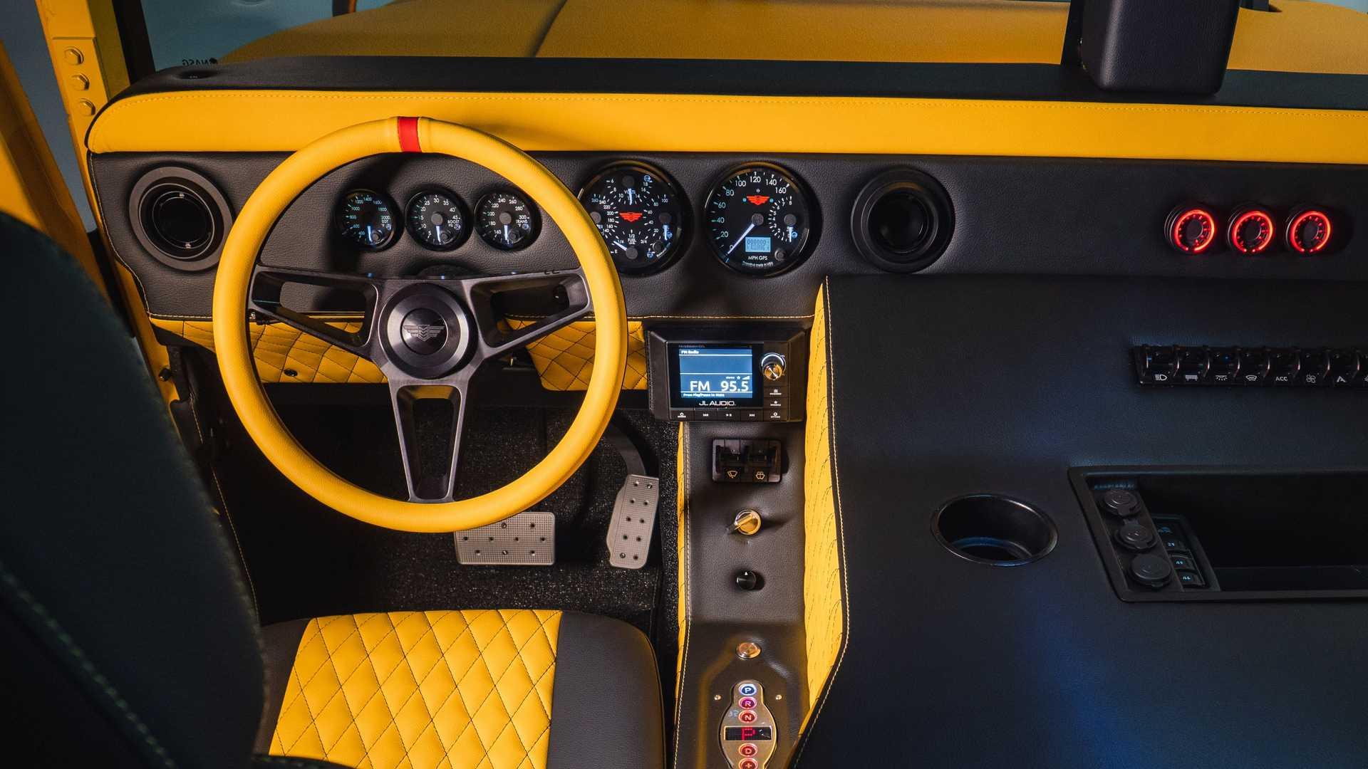 هامر M1-R با تیونینگ میل اسپک معرفی شد