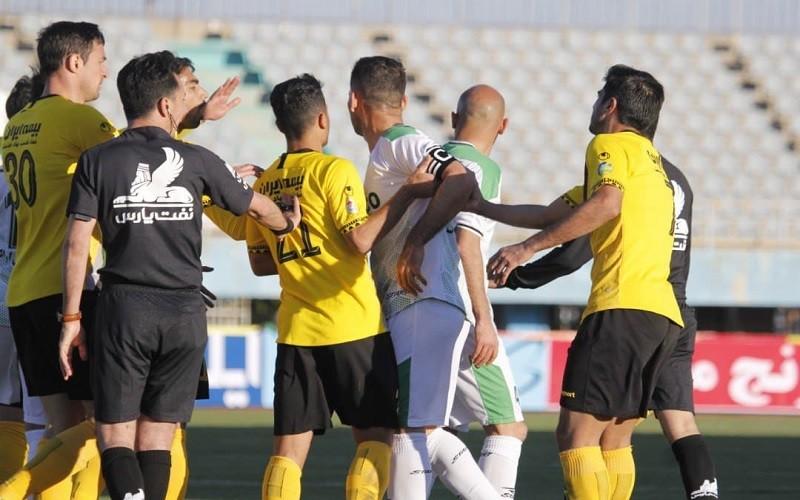 نتایج نهایی هفته هفدهم لیگ برتر فوتبال