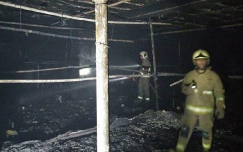 آتش سوزی در آجودانیه جان یک نفر را گرفت
