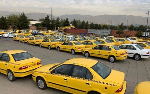 آغاز برچسب گذاری نرخ جدید کرایه تاکسی از امروز