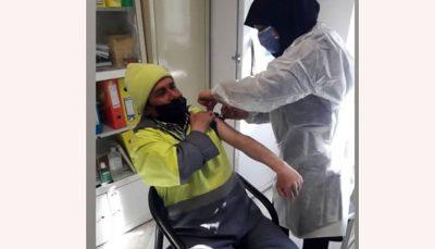 آغاز واکسیناسیون پاکبانان شهرداری تهران