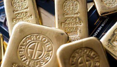 افت قیمت طلا