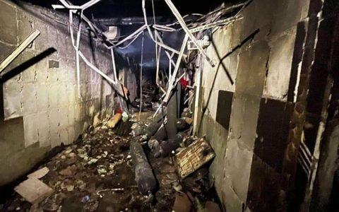 افزایش قربانیان حادثه انفجار در بیمارستان بیماران کرونایی در بغداد