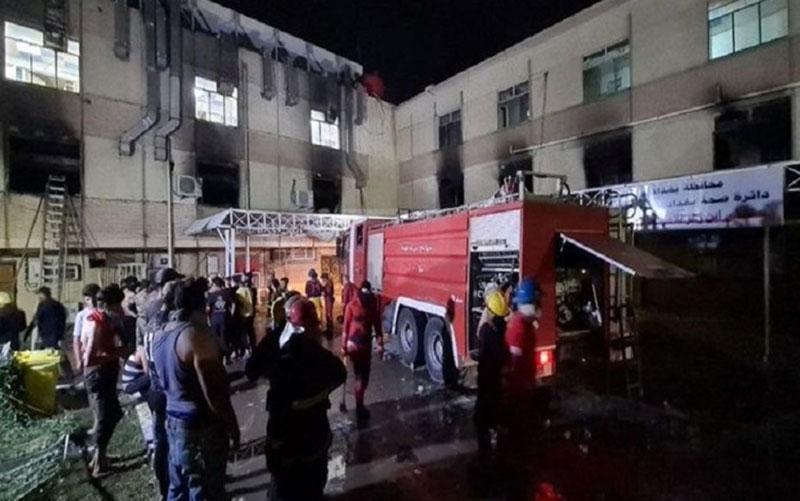 انفجار در بیمارستان کروناییها در عراق؛ شمار تلفات به ۲۷ نفر رسید