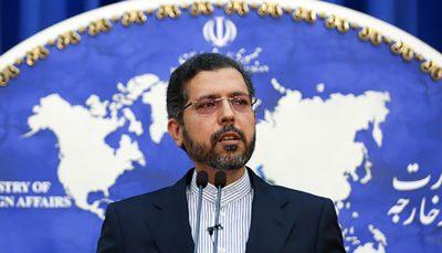 با هرگونه بیثباتی داخلی و دخالت خارجی مخالف است سعید خطیبزاده: ایران با هرگونه بیثباتی داخلی و دخالت خارجی مخالف است