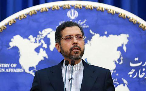 سعید خطیبزاده: ایران با هرگونه بیثباتی داخلی و دخالت خارجی مخالف است