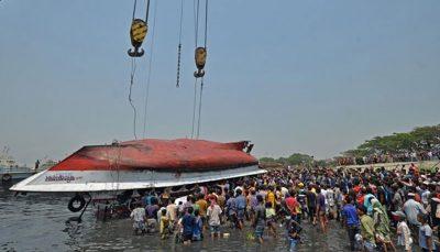 برخورد مرگبار ۲ کشتی در بنگلادش و احتمال افزایش قربانیان