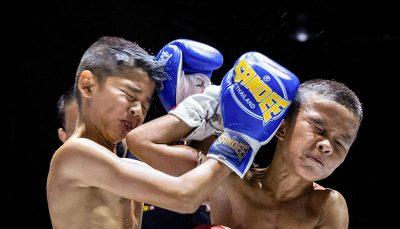 بوکسور ۹ ساله تایلندی