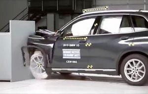 تست تصادف BMW X5 و Volvo XC90 / فیلم