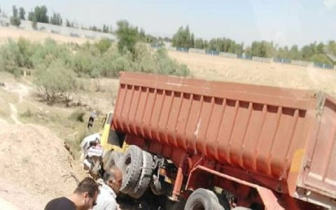 تصادف تریلر با پژو در جاده گتوند - دزفول چهار کشته برجا گذاشت