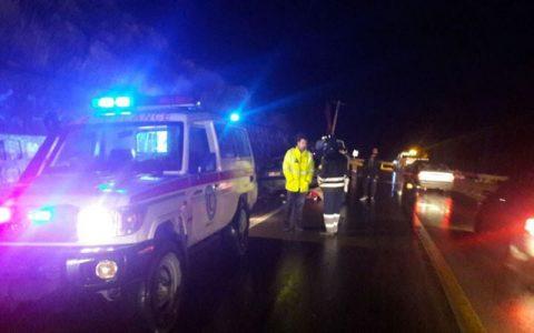 تصادف مرگبار کامیون با سواری در بزرگراه فداییان اسلام تهران