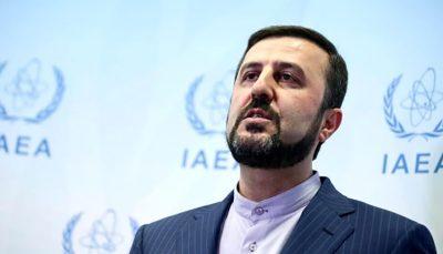 کاظم غریبآبادی: جمهوری اسلامی تنها در صورتی به تعهدات برجامیاش بازمیگردد که آمریکا تحریمها را بردارد