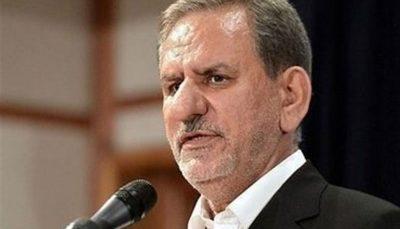 جهانگیری: ایران قادر است بحرانهای بزرگ را به خوبی مدیریت کند