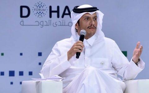 حمایت قطر از اظهارات ولیعهد سعودی