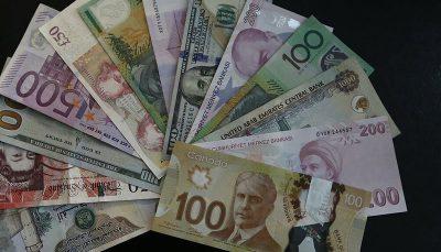 رشد نرخ رسمی یورو و ۲۴ ارز دیگر
