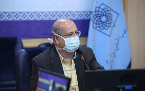 زالی: تهران وضعیت کرونایی