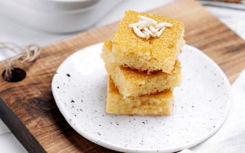 طرز تهیه بسبوسه؛ تجربهی طعمی عالی با کیک مصری