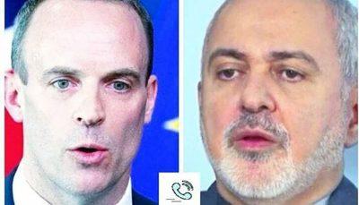 ظریف در گفتوگو با وزیر خارجه انگلیس: در صورت رفع کامل تحریمها و راستیآزمایی به تعهداتمان برمیگردیم