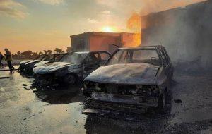 عامل آتش زدن ۴ دستگاه خودرو در خیابان دیباجی بازداشت شد