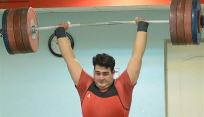 علی داودی اولین المپیکی وزنهبرداری ایران