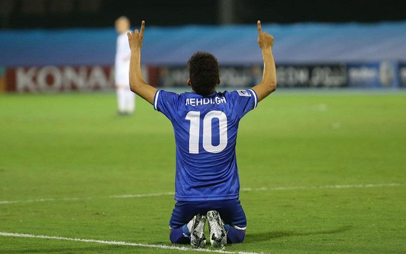 قایدی در صدر برترین بازیکنان هفته اول لیگ قهرمانان آسیا