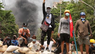 قتل ۸۲ نفر از معترضان توسط ارتش میانمار در یک روز