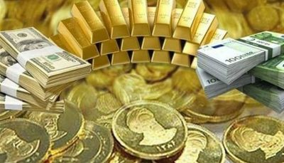 قیمت طلا، سکه دلار، ارز امروز ۱۴۰۰/۰۱/۲۳