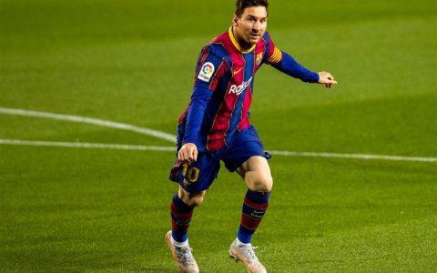 مسی در ردهبندی کفش طلا به رونالدو رسید