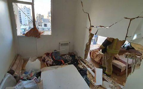 مصدومیت ۳ کودک در انفجار خانه