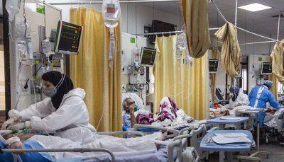 معاون درمان ستاد کرونای تهران: هیچ بیماری در فضای باز بستری نمیشود