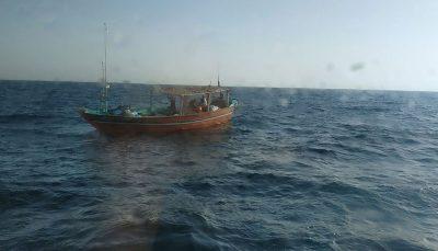 نجات ۶ سرنشین شناور صیادی در بندر چابهار