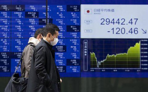 نوسان شدید سهام آسیا اقیانوسیه