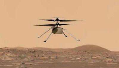 هلی کوپتر نبوغ بر فراز مریخ به پرواز درآمد