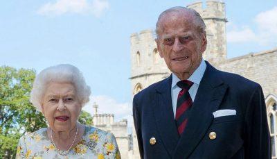 واکنش دوستداران سلطنت بریتانیا به درگذشت همسر ملکه / عکس