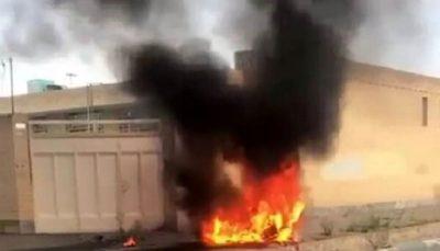پهپاد ساخت شرکت هسا در پرواز آزمایشی سقوط کرد