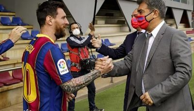 پیشنهاد تمدید قرارداد بارسلونا به مسی