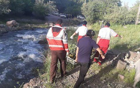پیکر زن غرق شده در رودخانه اناده الموت کشف شد