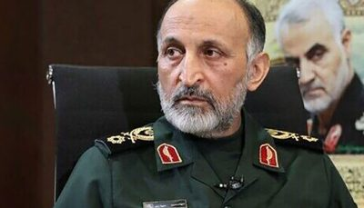 پیکر سردار حجازی در اصفهان تشییع شد