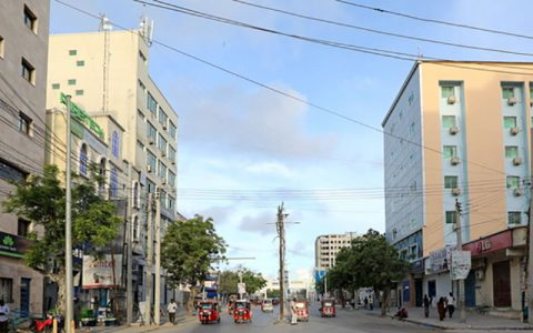 چندین کشته و زخمی در پی وقوع انفجار در موگادیشو