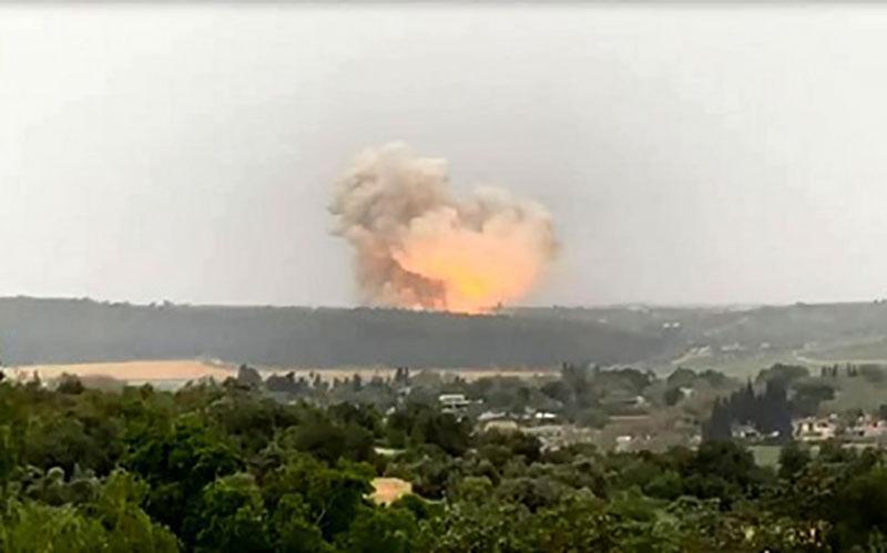 کدام یک از تاسیسات موشکی اسرائیل منفجر شد؟