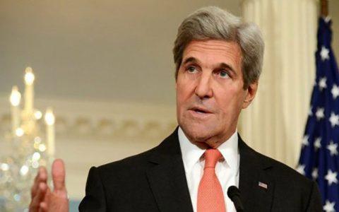 کری: هیچ گفتوگویی با ظریف درباره حملات اسرائیل در سوریه