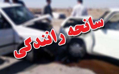 یک کشته در سانحه رانندگی کنار گذر اراک